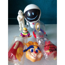 Lote Bonecos Promocionais Antigos - 7 Brinquedos
