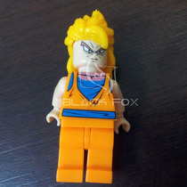 Super Son Goku Dragon Ball Z - Zhiao Compatível Com Lego