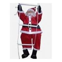 Papai Noel Na Escada Tamanho Grande
