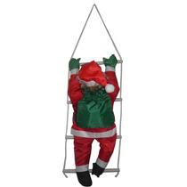 Papai Noel Escalador Enfeite Natalino Na Escada Natal