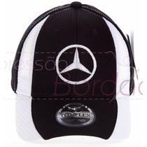Boné Aba Curva Mercedes Benz Amg Bordado Original Tomflex