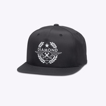 Boné Diamond Supply Co Shine Crest Snapback Skate Importado