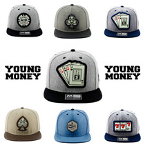 Kit 3 Bonés Aba Reta Snapback Young Money Carta Naipe Barato