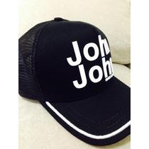 Bonés Jonh Jonh Preto Com Escrita Branca !!!!