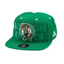 Boné Adidas Snapback Flatcap Boston Celtics - Nba
