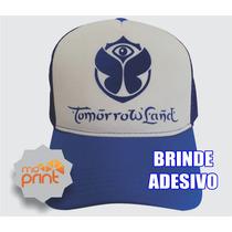 Boné Trucker Cap Tomorrowland Brasil 2015