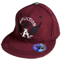 Boné Affliction P / M Aba Reta Snapback New Era Von Dutch