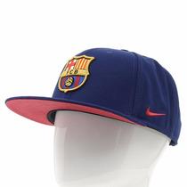 Boné Snapback Nike Fcb Core - 100% Original