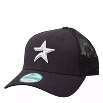 Boné Aba Curva Houston Astros Trucker Azul Marinho Snapback