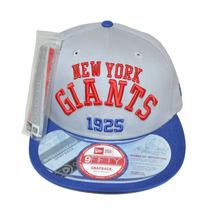 Boné New Era Aba Reta Snapback Aberto Nfl New York Giants