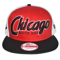 Boné New Era Aba Reta Snapback Aberto Mlb Chicago White Sox