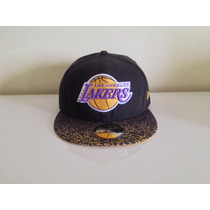 Boné De Aba Reta Fechado Nba Los Angeles Lakers Original