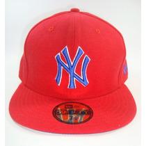 Boné Aba Reta Mlb New York Yankees Red - Tam 7 1/8 - 56.8cm