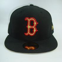 Boné Aba Reta Mlb Boston Red Sox Preto - Tam 7 1/8 - 56.8cm