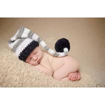 Gorro Bêbe Croche, Touca Newborn 2 Gorros
