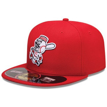 Boné Aba Reta Mlb Diamond Cincinnati Reds - 7 3/8 - 58.7cm