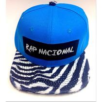 Boné Aba Reta Strapback Rap Nacional Zebrinha Zebra Oncinha