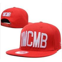 Boné Vermelho Snapback Ymcmb Importado