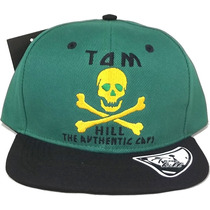 Boné Aba Reta Tom Hill Authentic Caps Bordado Snapback