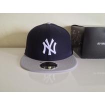 Boné De Aba Reta Fechado Mlb New York Yankees Original