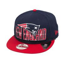 Boné New Era Snapback New England Patriots Draft