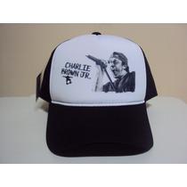 Boné Chorão Charlie Brown Jr Trucker Snapback