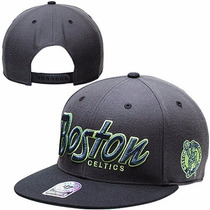 Boné Aba Reta Snapback Importado Nba Original Boston Celtics