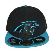 Boné New Era Aba Reta Fechado 5950 Nfl Carolina Panthers