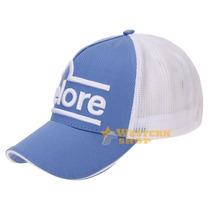 Boné Nelore Azul Claro Bordado Em Alta Definição Com Tela Br