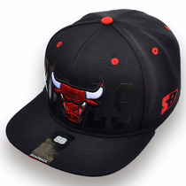 Boné Aba Reta / Snapback Chicago Bulls