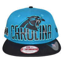 Boné New Era Aba Reta Snapback Aberto Nfl Carolina Panthers