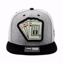 Boné Chapéu Aba Reta Young Money Logo Acende No Escuro