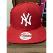 Boné Snapback New Era Ny Yankees Vermelho