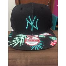 Boné New Era Snapback Ny Yankees Floral