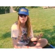 Bone Nirvana Trucker Cap Aba Reta Estilo O Do Axl Rose