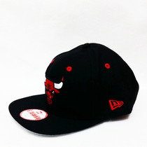 Boné New Chicago Bulls Black Original Fit Snapback Aba Reta