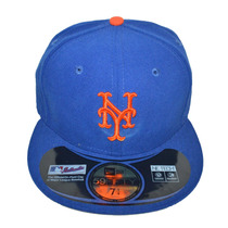 Boné New Era Aba Reta Fechado 5950 Mlb New York Mets