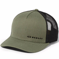 Boné Oakley Chalten Cap Snap-back Verde Com Preto Lançamento