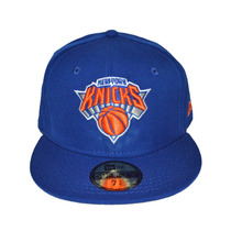 Boné New Era Aba Reta Fechado 5950 Nba New York Knicks
