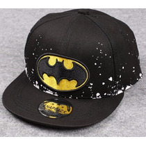 Boné Batman Infantil Aba Reta De 3 A 10 Anos