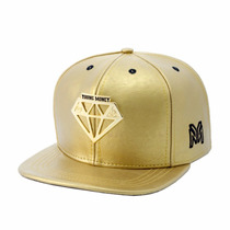 Boné Young Money Aba Reta Snapback Diamante Funk Rap Hip Hop