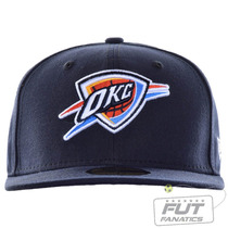Boné New Era Nba Okc Thunder Classic And Library - Tam 7 1/4