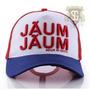 Bone Jaum Jaum Paraguay Branco / Vermelho 6139