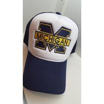 Boné Trucker Bordado Michigan (personalizado)