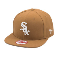 Boné New Era Snapback Original Fit Chicago White Sox Wheat