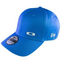 Bone Oakley Square O Cap Metal 2.0 Azul Bebe Lançamento-s/m