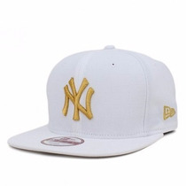 Boné Snapback Ny Yankees White/gold Original Fit Aba Reta
