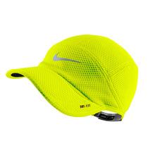 Boné Nike Mesh Daybreak Refletivo Corrida Dri-fit Amarelo