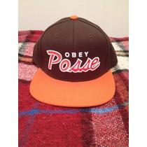 Boné Obey & Posse Snapback Original Shepard Fairey