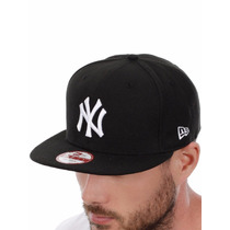 Boné New Era Snapback Fit New York Yankees Preto Ny Aba Reta